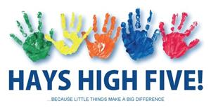 Hays High Five Logo
